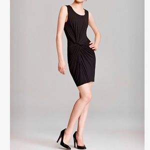 Bailey 44 Knot Front Little Black Dress